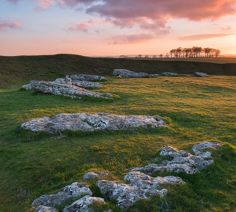 Arbor Low Sunset