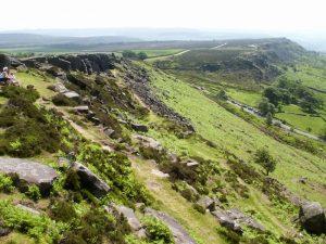 Cuber Edge Walk Peak District