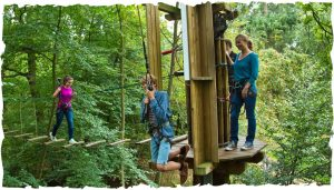 Go Ape People in the Peak District