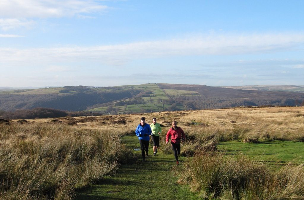 peak district fell running