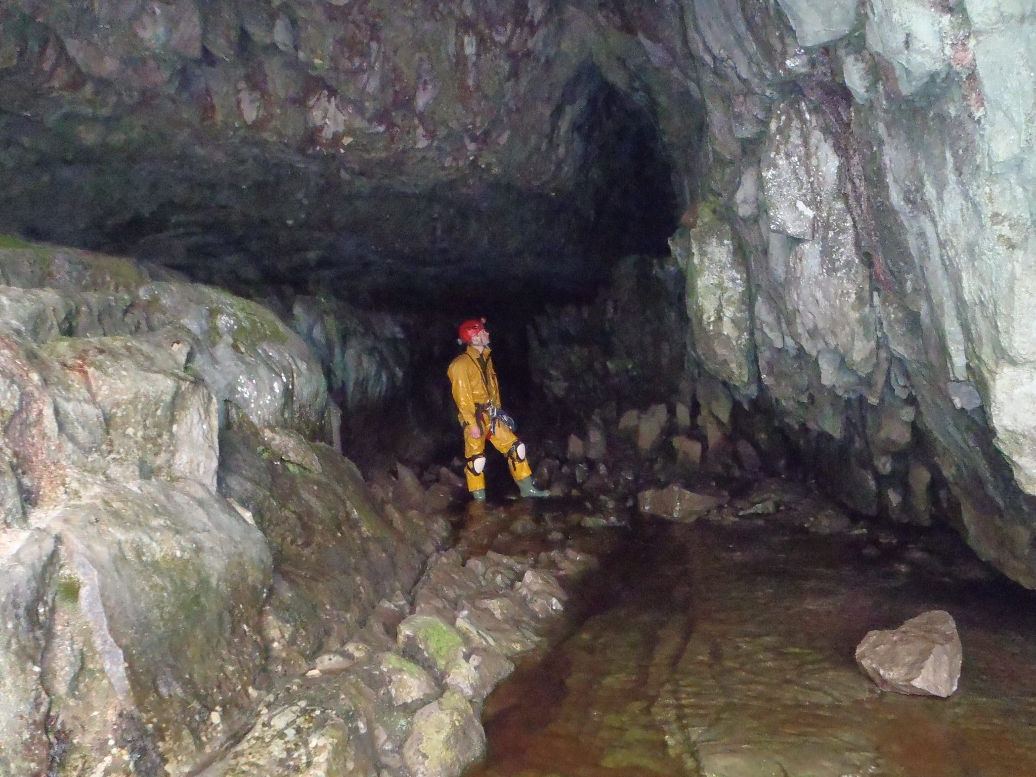 Caving in the Peak District