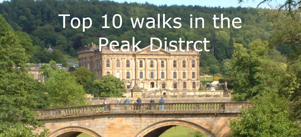 top 10 walks peak district