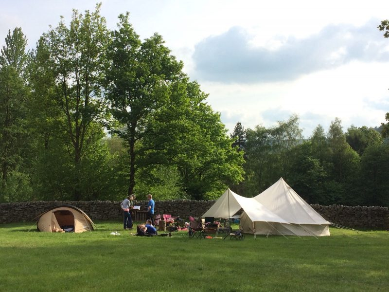 North Lees Campsite